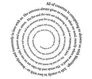 Spiral words