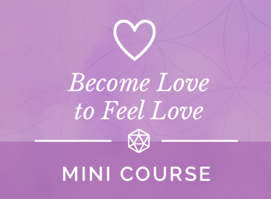 Become Love to Feel Love